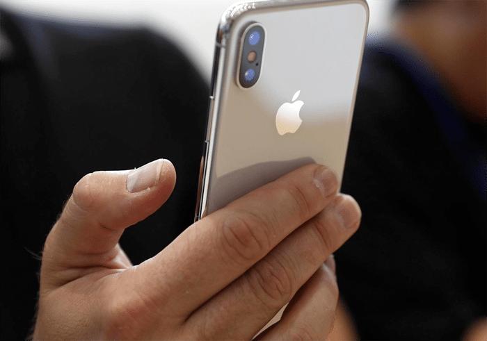 iPhone X cámara