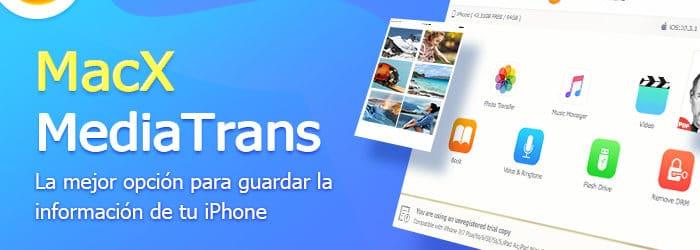 MacXMediaTrans: La mejorforma de hacer una copia de respaldo de tu iPhone en tu Mac | GIVEAWAY