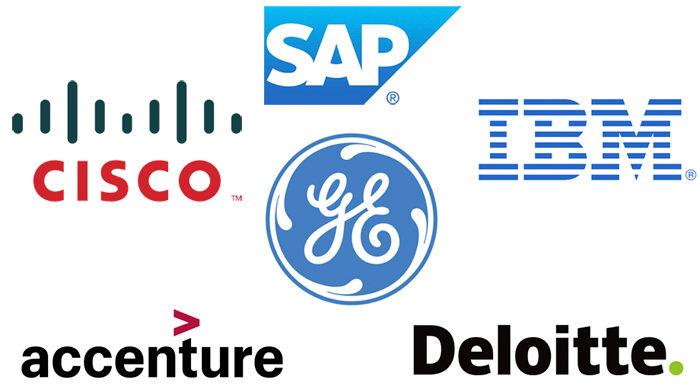 socios empresariales apple
