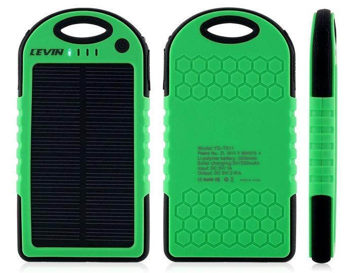 Cargador Solar Levin