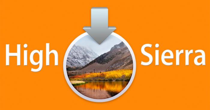 macOS high sierra actualizacion 10.13