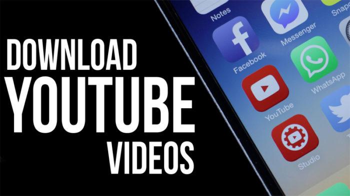 Bajar videos YouTube