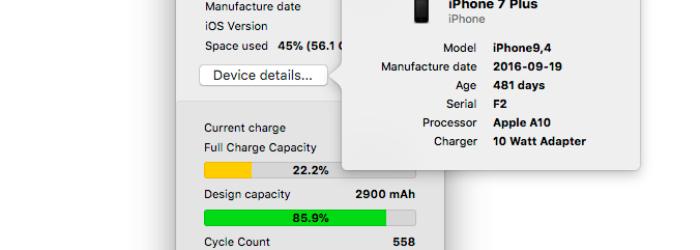 Cómo saber si tu iPhone necesita un cambio de batería