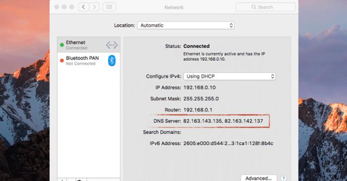 macOS DNS Hijacker