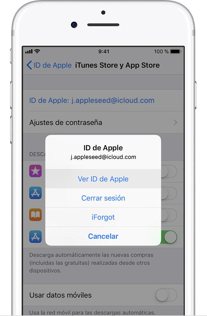 Ver Apple ID
