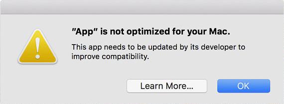App no optimizada