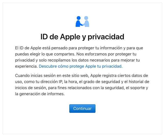 mensaje privacidad