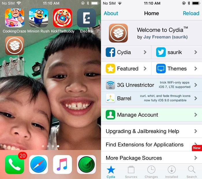 Cydia en iOS 11