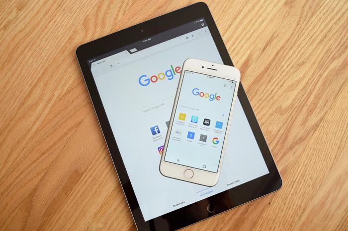 Google en iOS