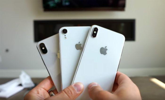 Nuevos iPhones 2018