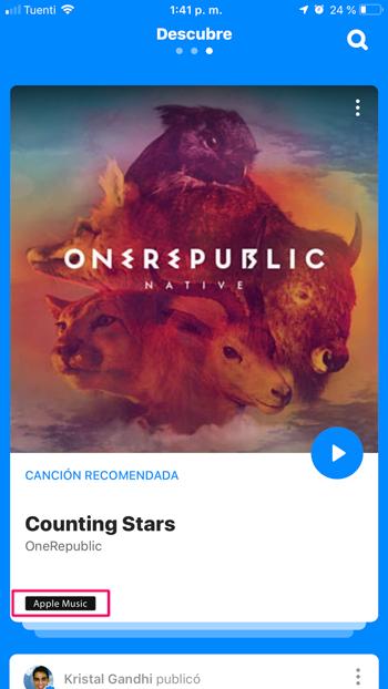 Shazam sin Spotify