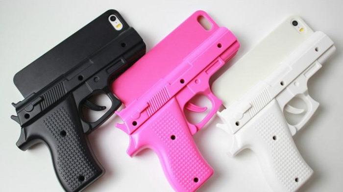 gun shape case