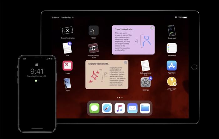 iOS 13 Concepto