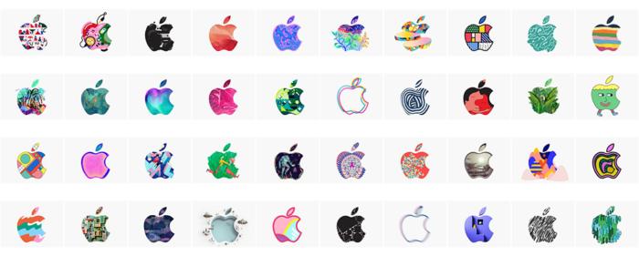 Apple Video Logos