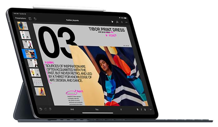 iPad Pro con teclado y lápiz