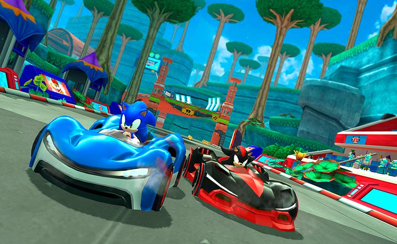 Sonic Racing Arcade
