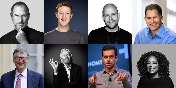 CEOs exitosos sin titulo universitario