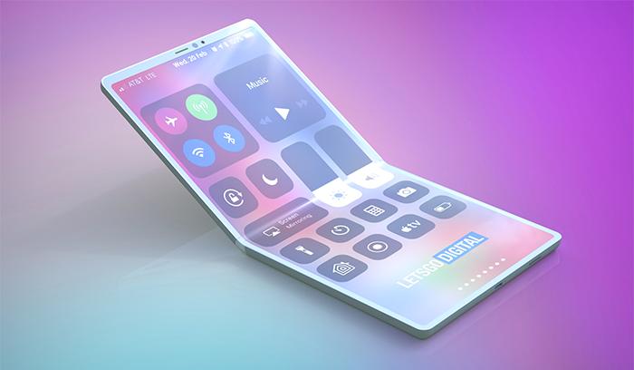 iPhone pantalla flexible