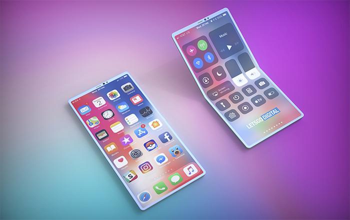 iPhone pantalla plegable