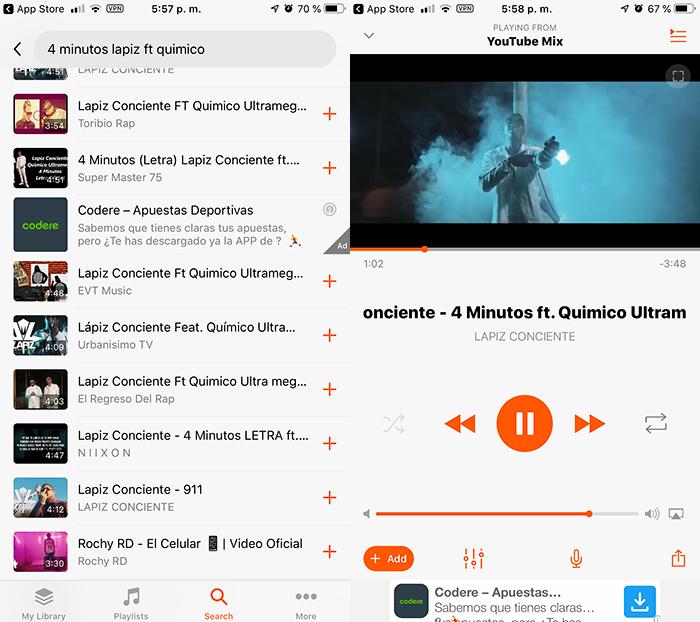 Musi para iOS