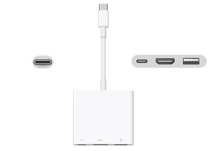Adaptador multipuerto USB-C AV