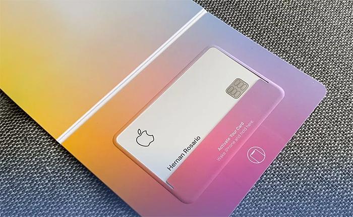 Empaque Apple Card