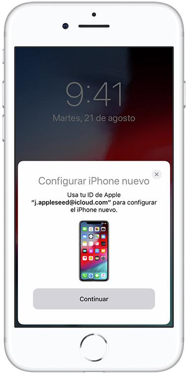 inicio rapido iOS