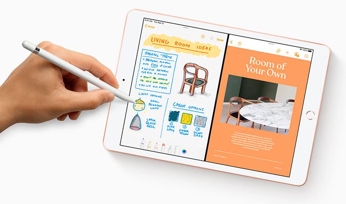 iPad con iPadOS