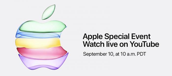 Evento Apple en YouTube