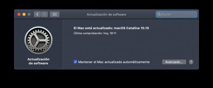 macOS actualizado