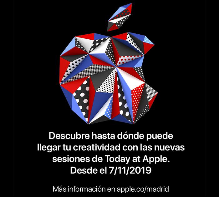 Nuevo Logo Apple Madrid