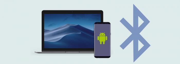 Cómo transferir archivos de Android a Mac mediante Bluetooth