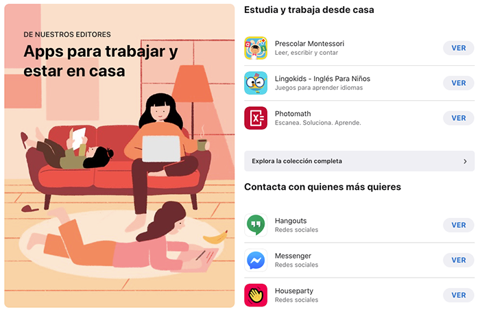 Apps para teletrabajo