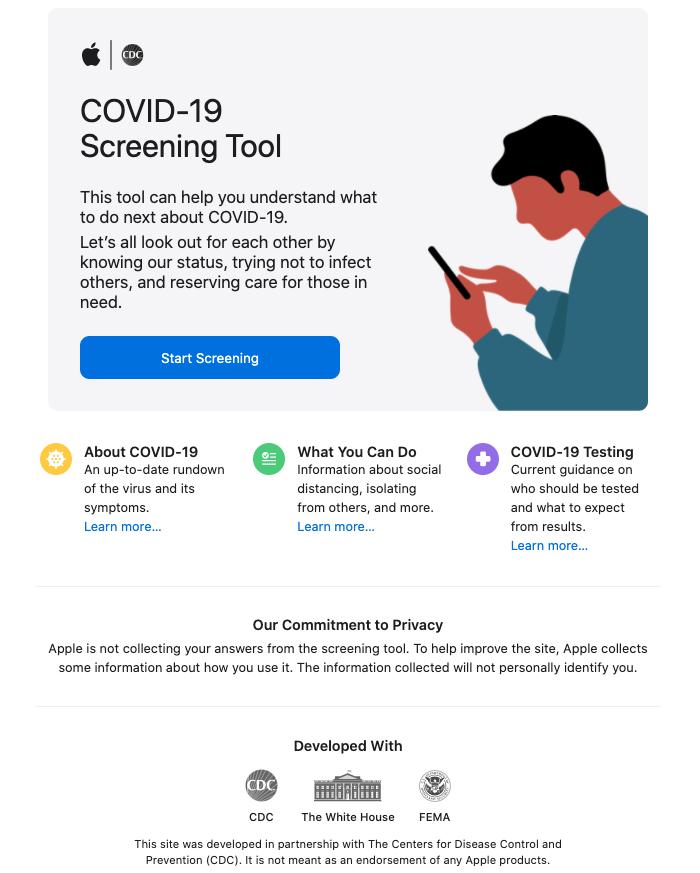 Web Apple COVID19
