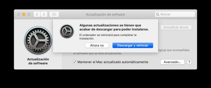 Actualizar macOS 10.5.4