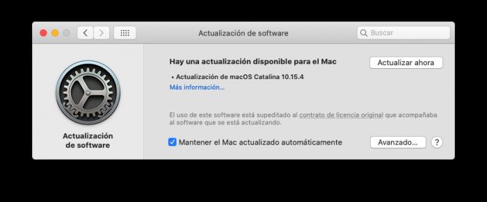 macOS 10.5.4