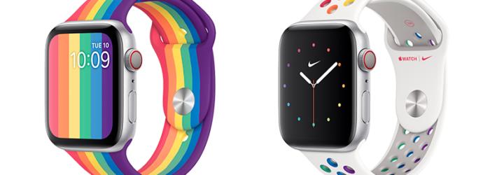 Apple lanza dos nuevas correas y esferas del orgullo LGBTQ