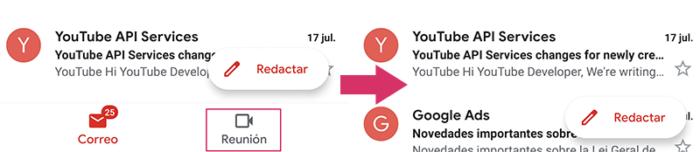 Gmail Reunión