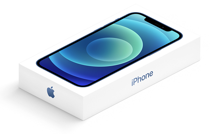 iPhone 12 en caja