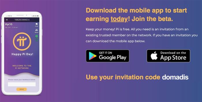 Invitacion Pi Network