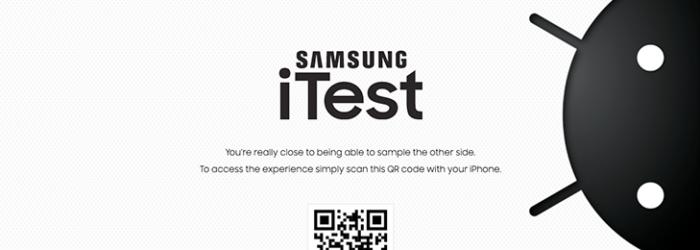 Samsung lanza iTest, una app que simula Android en iPhone
