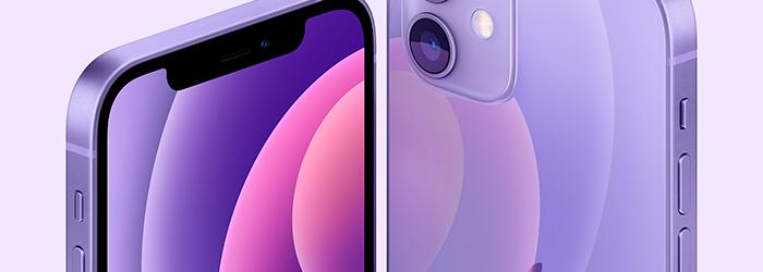 Apple presenta un nuevo iPhone 12 en color morado