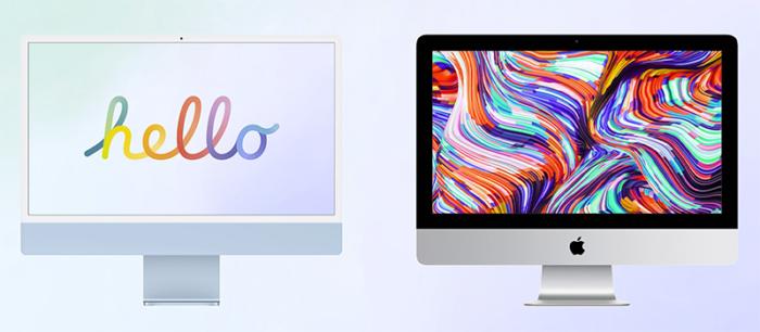iMac 2020 vs iMac 2021