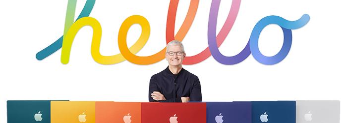 Nuevos iMac con chip M1: tan coloridos como potentes, y feos