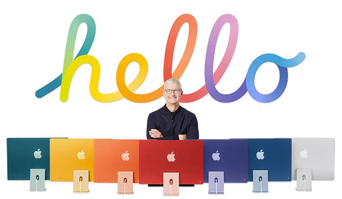 iMac M1 Colores