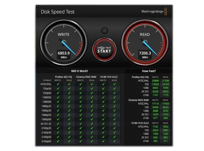 Velocidad SSD
