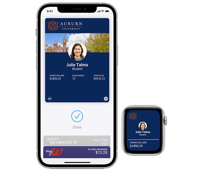 Auburn University iPhone ID