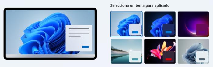 Temas Windows 11